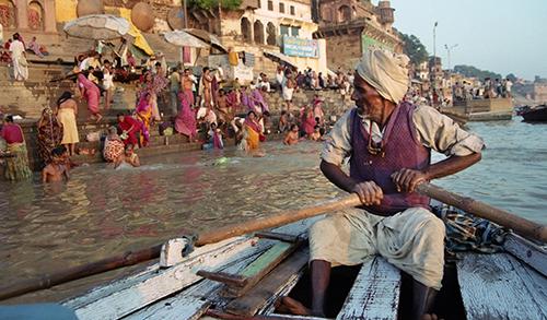 Varanasi'de Ölmek