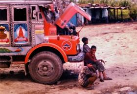 Nepal'de Bir Otobüs Yolculuğu