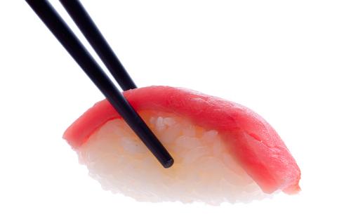 Tokyo'da Bir Suşi Restoranı